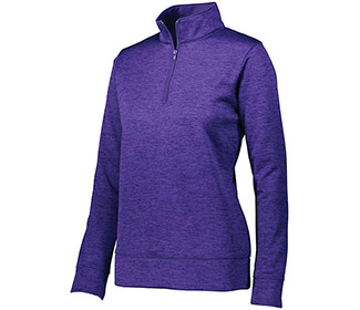 AUGUSTA STOKED 1/4 ZIP (W) PUR