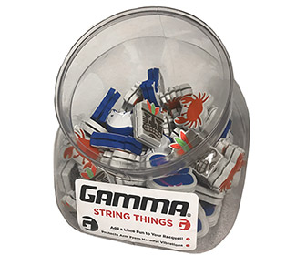 Gamma String Things Jar (60x) Flip Flop/Dolphin