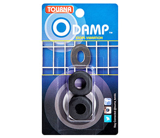 Tourna O-Damp Vibration Dampeners (2x) (Black)